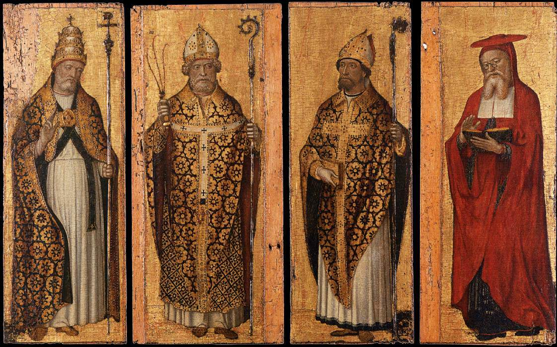 The Four Doctors of the Western Church