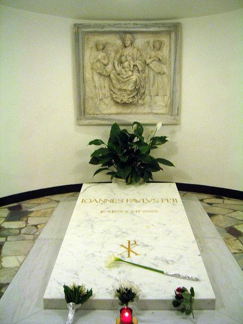 Tomb of John Paul II
