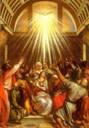 The Descent of the Holy Spirit at Pentecost