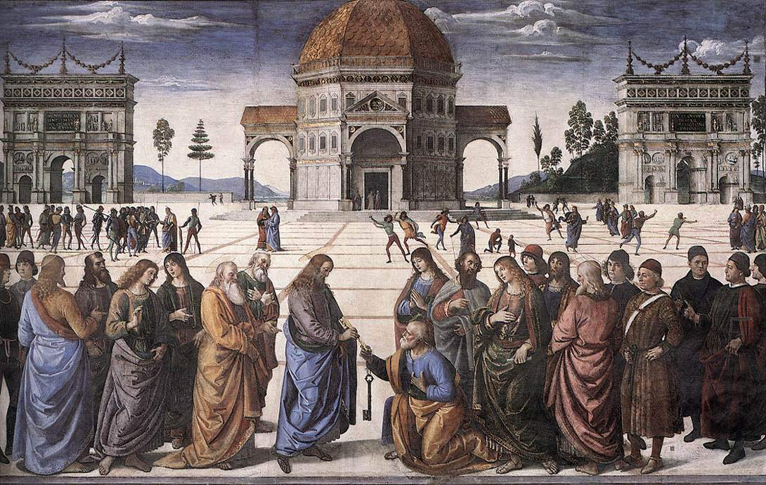 The Delivery of the Keys (Perugino, Sistine Chapel, Rome)