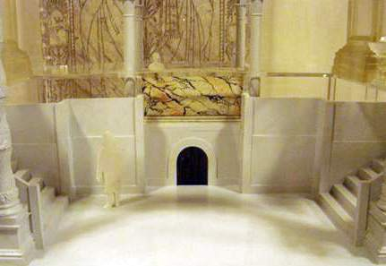 Pope Gregory's high altar and confessio