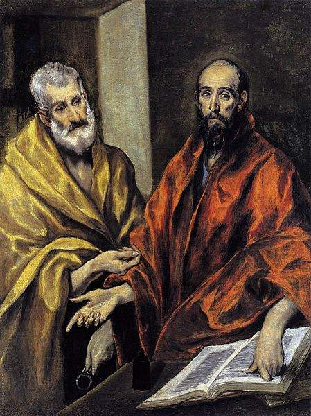 Saints Peter and Paul, by El Greco