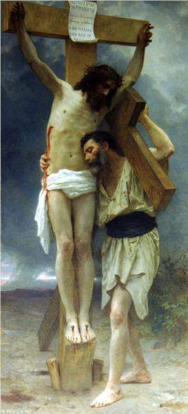 Compassion by Bouguereau