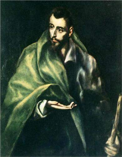 Apostle St. James the Greater, by El Greco (1606).