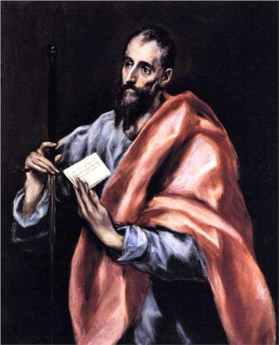 El Greco, Apostle St. Paul