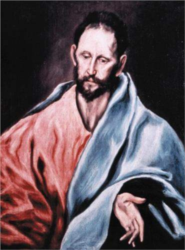 St. James the Less, by El Greco.