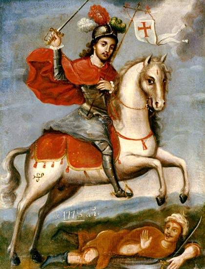 Santiago Matamoros (Saint James the Moor-slayer)