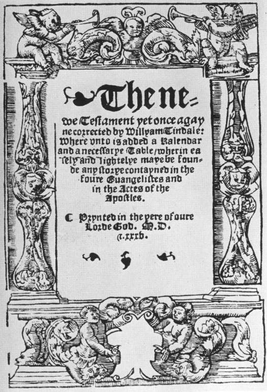 Tyndale New Testament title page