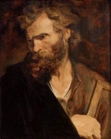 Apostle Judas Thaddeus, by Van Dyck