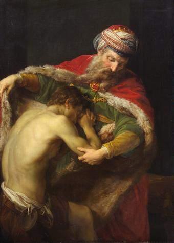 Return of the Prodigal Son, by Batoni