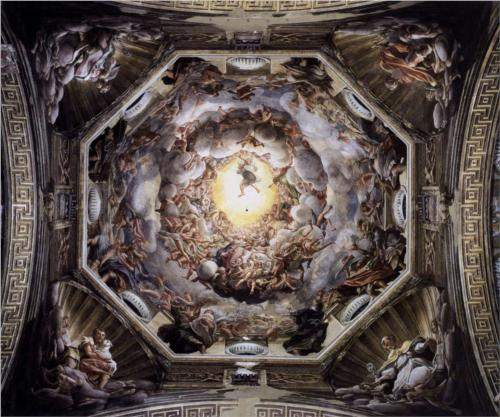 Correggio, The Assumption of the Virgin (1530)