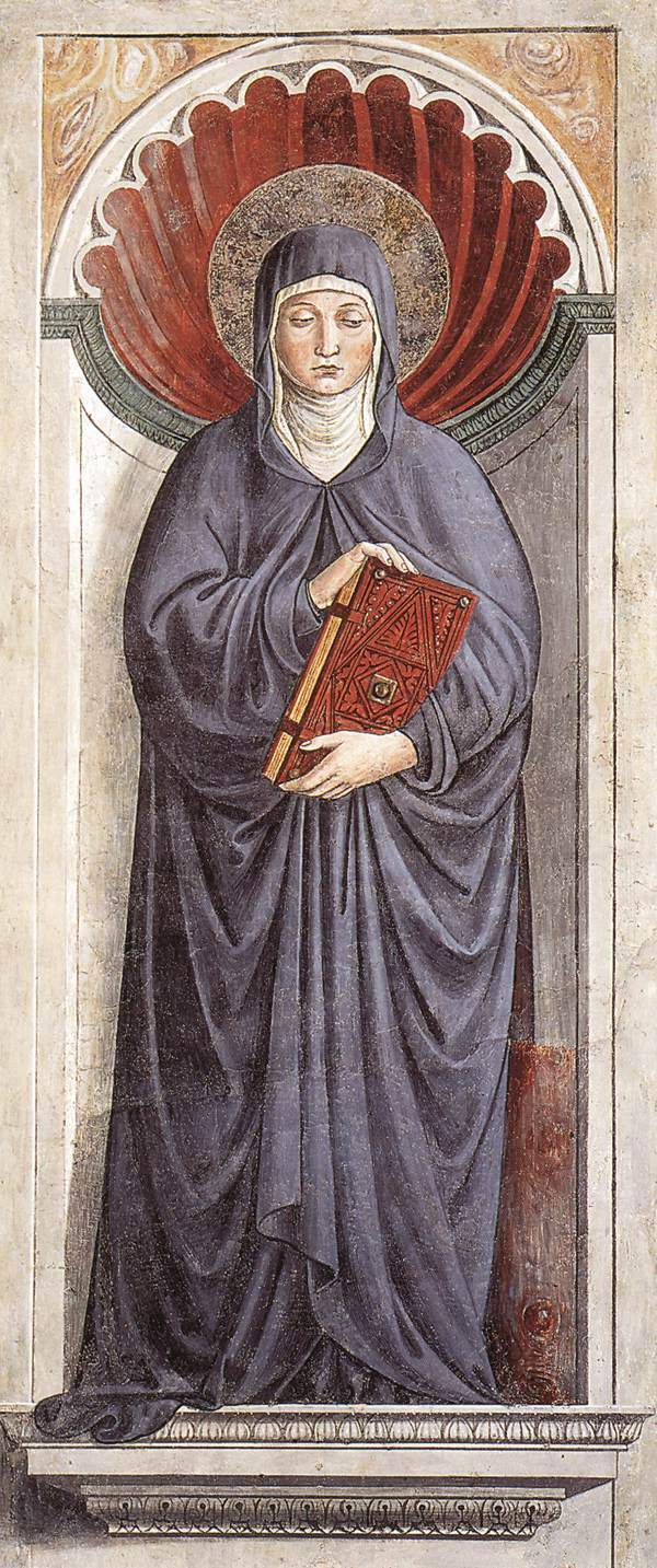 St. Monica (1465), by Gozzoli