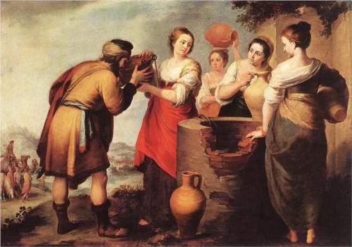 Murillo, Rebecca and Eliezer, 1650