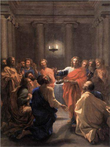 Poussin, Institution of the Eucharist (1640)