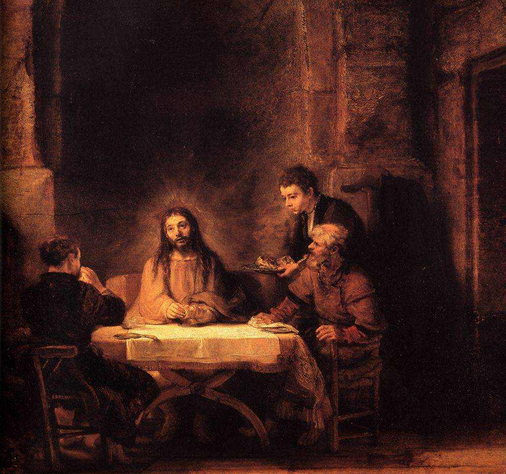 Rembrandt, The Supper at Emmaus (1648)