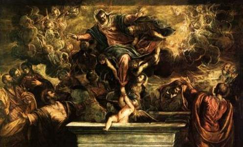 Tintoretto, The Assumption of the Virgin (1594)