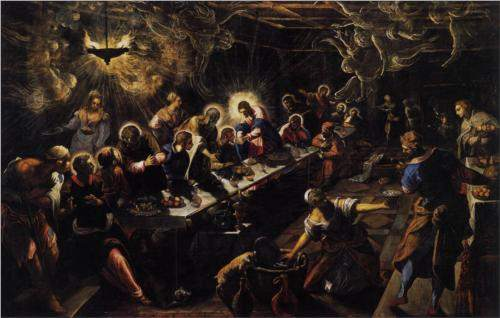 Tintoretto, The Last Supper (1594)