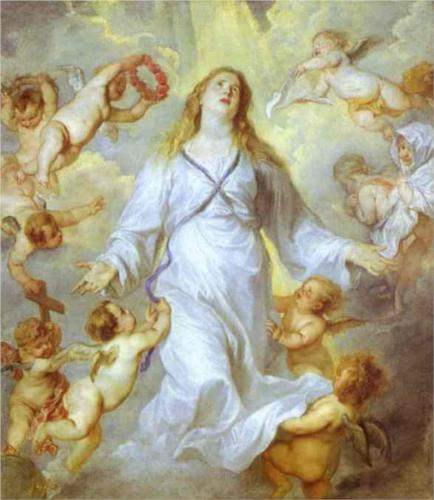 Van Dyck, The Assumption of the Virgin (1627)
