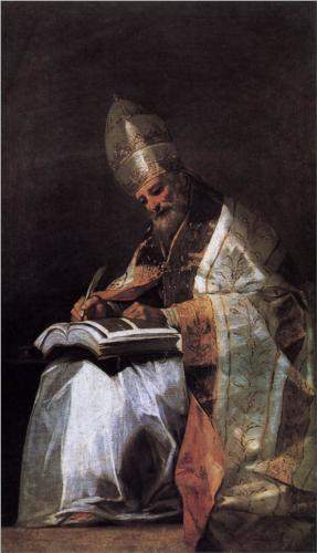 St. Gregory the Great, by Francisco Goya (1797)