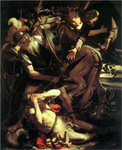 Caravaggio, Conversion of Saint Paul (1600)