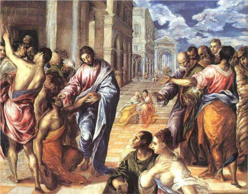 El Greco, Christ Healing the Blind (1578)
