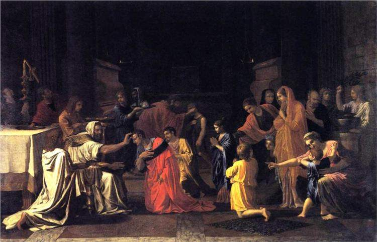 Poussin, Confirmation (1645)