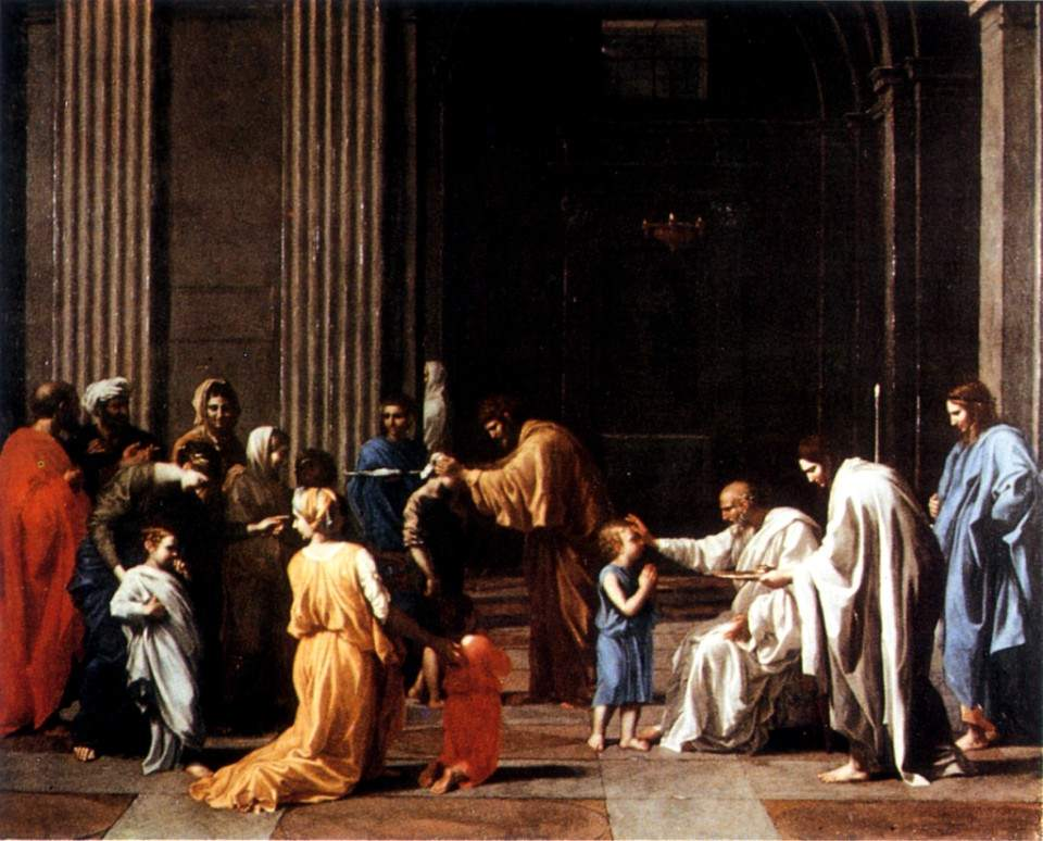 Poussin, The Confirmation (1649)
