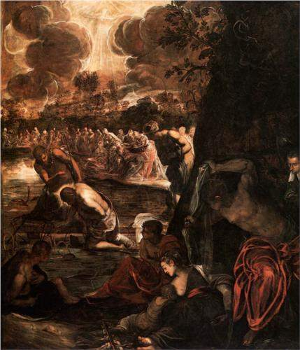 Tintoretto, The Baptism of Christ (1581)