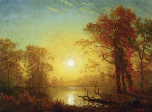 Sunrise by Albert Bierstadt
