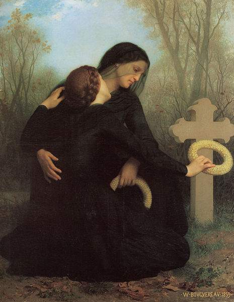The Day of the Dead (1859), by William-Adolphe Bouguereau.
