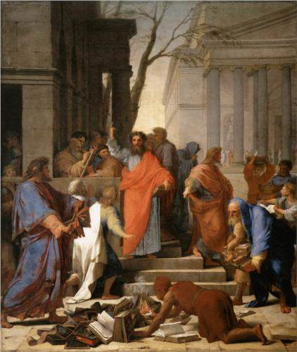 Le Sueur, The Preaching of St. Paul at Ephesus