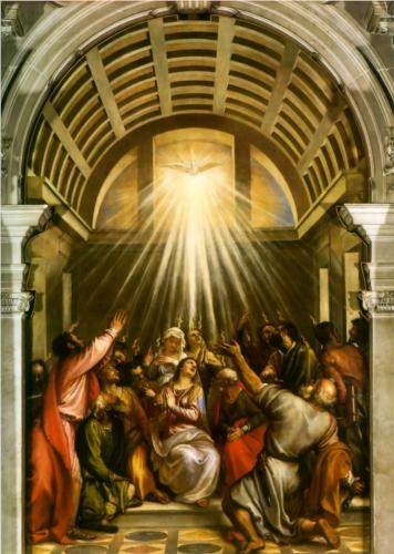 Titian, Pentecost