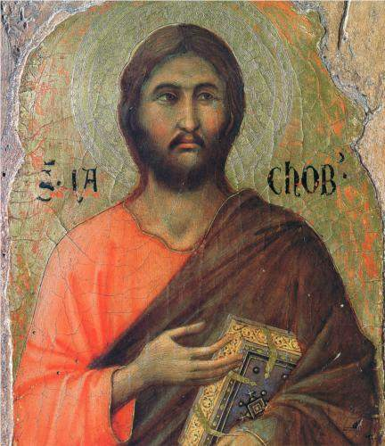 Duccio, The Apostle James Alphaeus (1311)