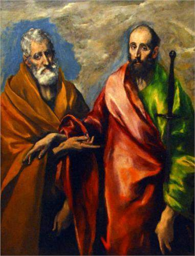 El Greco, St. Paul and St. Peter