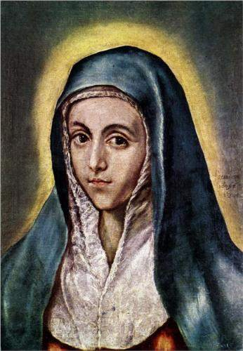 El Greco, Virgin Mary