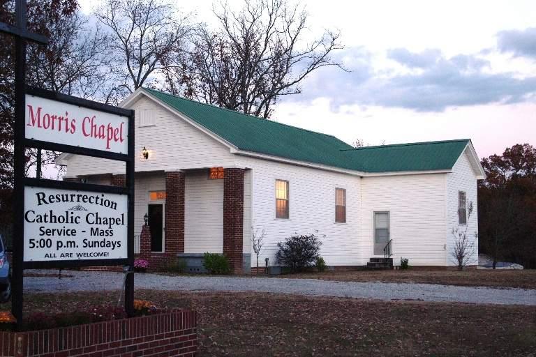 Resurrection Chapel, at Morris Chapel