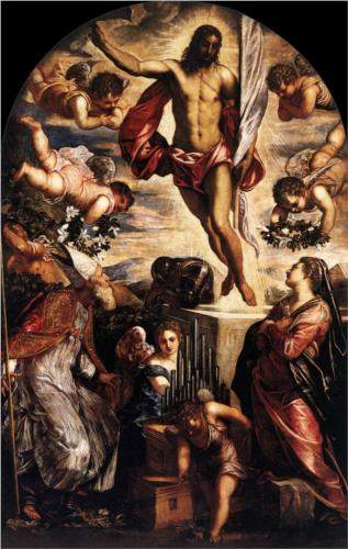 Tintoretto, The Resurrection of Christ (1565)