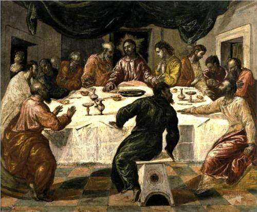 El Greco, The Last Supper (c.1598)