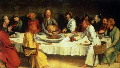 Grünewald, The Last Supper (Coburg Panel)