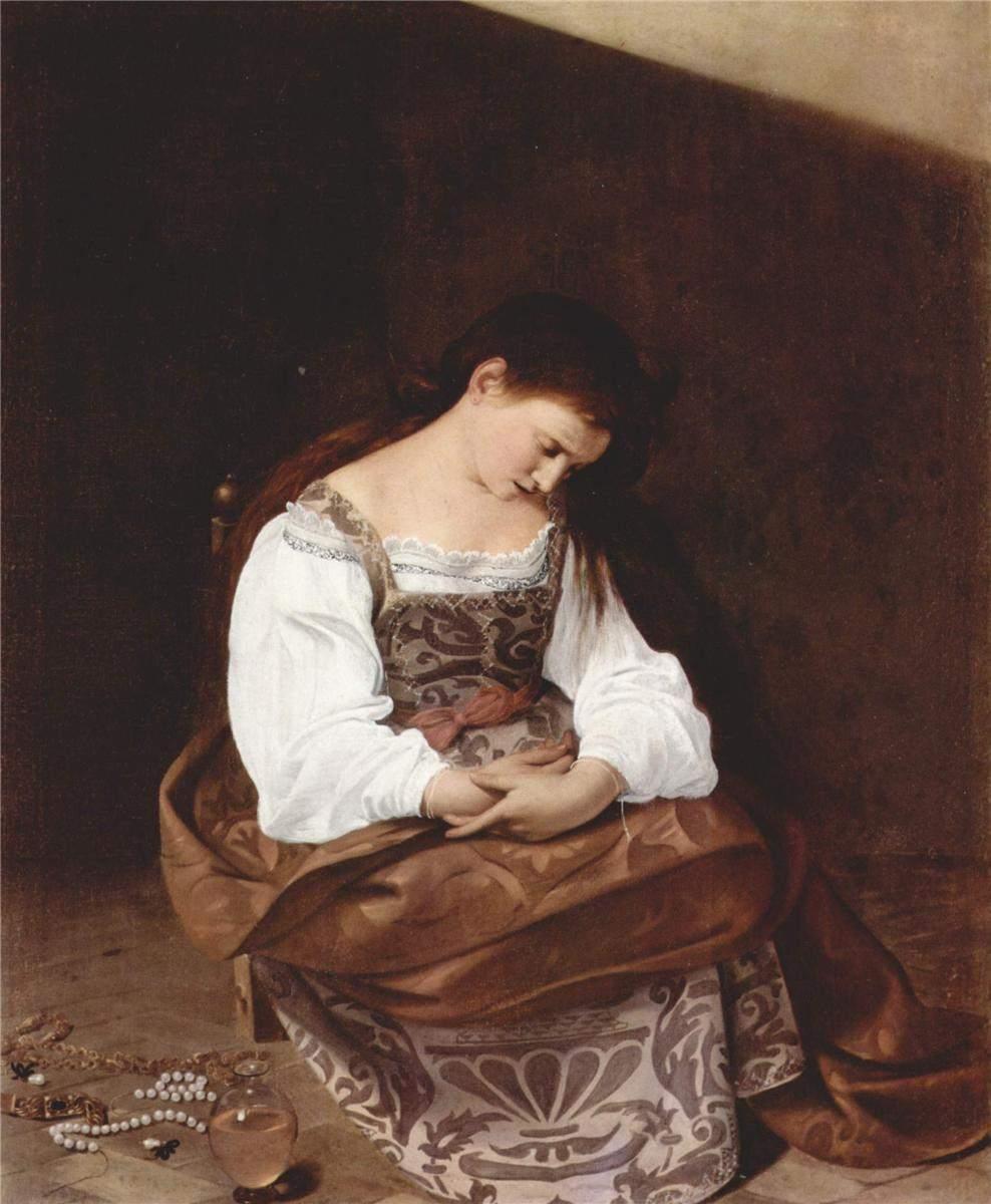 Caravaggio, Penitent Magdalene