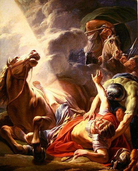 The Conversion of St. Paul, by Nicolas-Bernard Lepicie