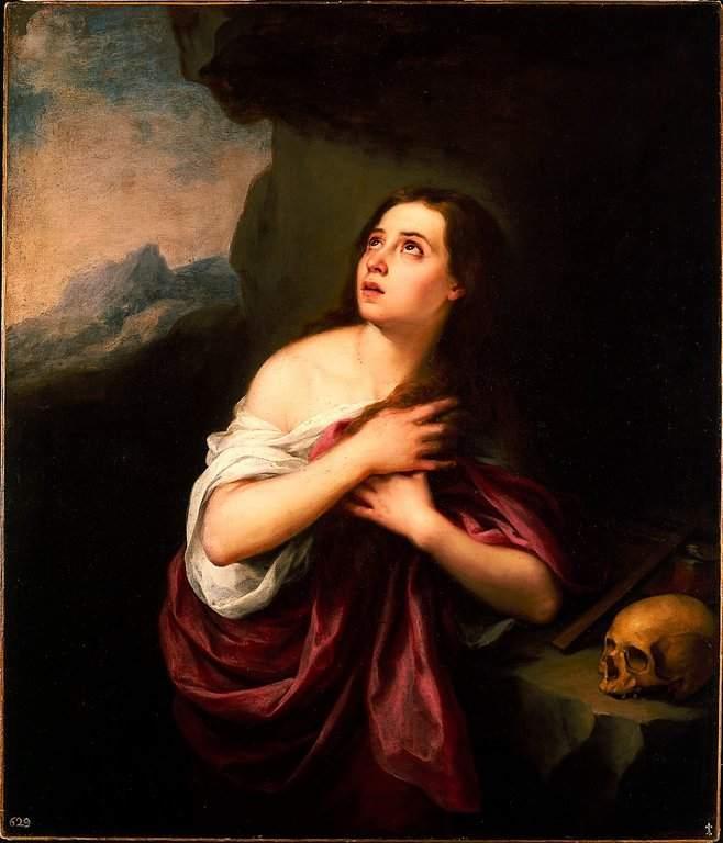 Murillo, Penitent Magdalene (1665)
