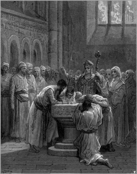 The Baptism of Infidels, by Gustave Dore