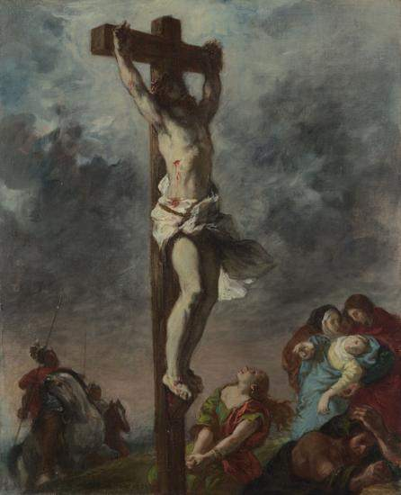 Eugene Delacroix, Christ on the Cross (1853)