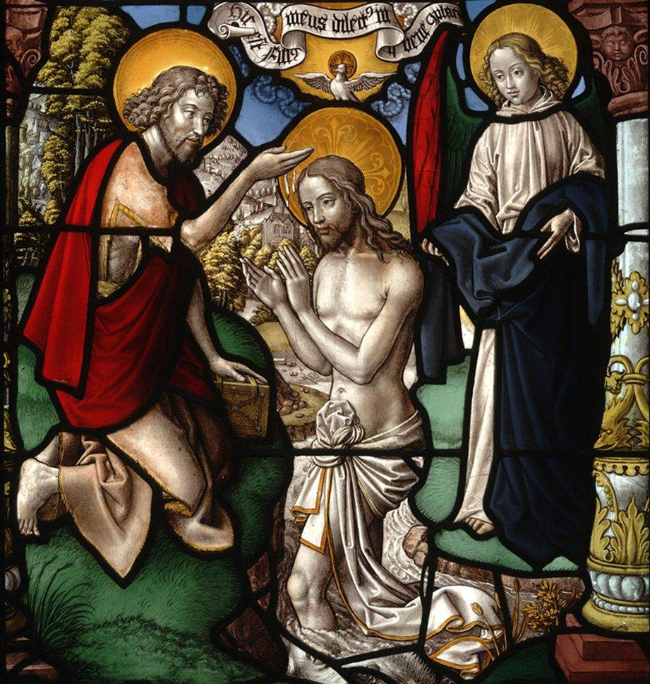 Baptism of Christ, from Mariawald Abbey