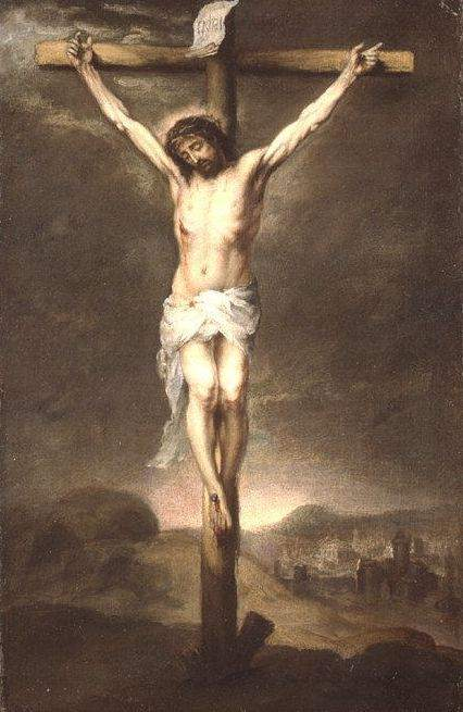 Christ on the Cross (1665), by Bartolomé Esteban Murillo