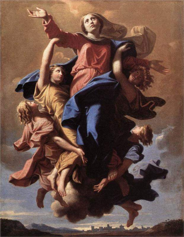 The Assumption of the Virgin (1650), by Nicolas Poussin
