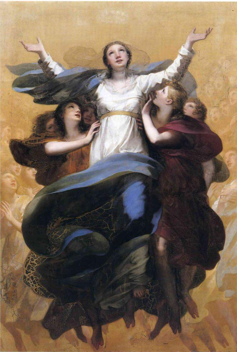 Assumption of the Virgin, by Pierre-Paul Prud'hon (1758-1823)