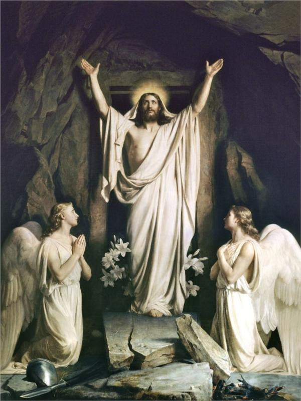 Carl Bloch, The Resurrection of Christ (1875)