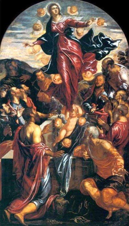 Assumption of the Virgin (c. 1550), by Tintoretto